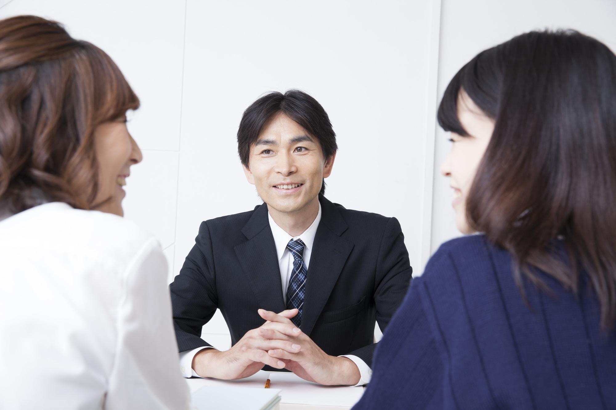 塾講師と三者面談